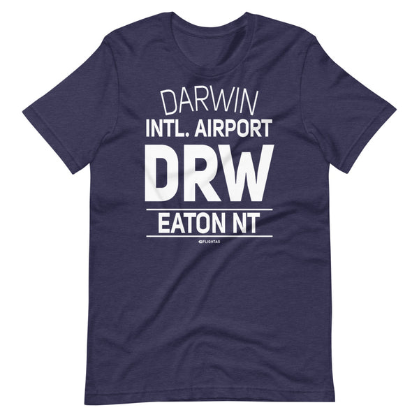 Darwin International Airport Eaton NT DRW IATA Code T-Shirt heather navy And Printed Hoodies Vacation Sweatshirt One Gift Airportag Iconspeak Travlshop Wanderlust PilotMall JetSeam Aviator Gear Travel Notes Wild Blue MyPilotStore Sportys Spreadshirt aviationshirts theaviationstore flightstore pilotexpressions aviationlifeclothing jetstream bobspilotshop piloteyesstore skygeek sportys aviatorwebsite aircraft mechanicshirts siu aviation pilot aeroplane pilotshop aviationclothing24 flyawayapparel