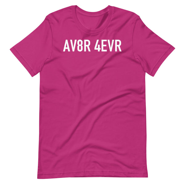 AV8R Taxiway Sign T-Shirt pink