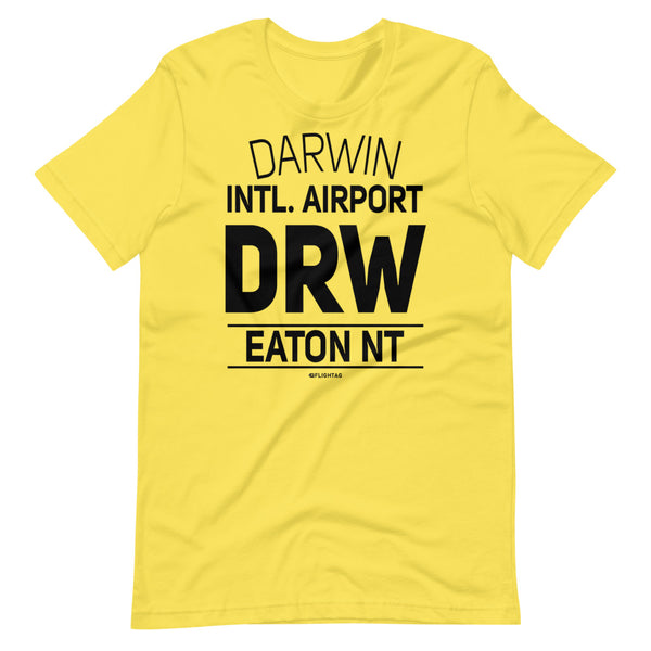Darwin International Airport Eaton NT DRW IATA Code T-Shirt yellow And Printed Hoodies Vacation Sweatshirt One Gift Airportag Iconspeak Travlshop Wanderlust PilotMall JetSeam Aviator Gear Travel Notes Wild Blue MyPilotStore Sportys Spreadshirt aviationshirts theaviationstore flightstore pilotexpressions aviationlifeclothing jetstream bobspilotshop piloteyesstore skygeek sportys aviatorwebsite aircraft mechanicshirts siu aviation pilot aeroplane pilotshop aviationclothing24 flyawayapparel