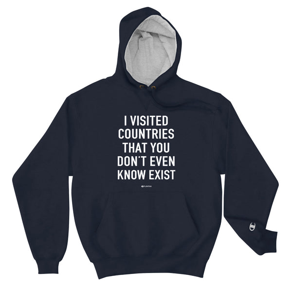 I Visited Countries That You Don't Even Know Exist - Men's Hoodie