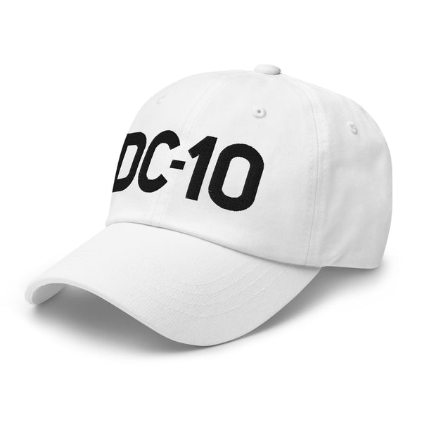 DC-10 Classic Embroidered Cap