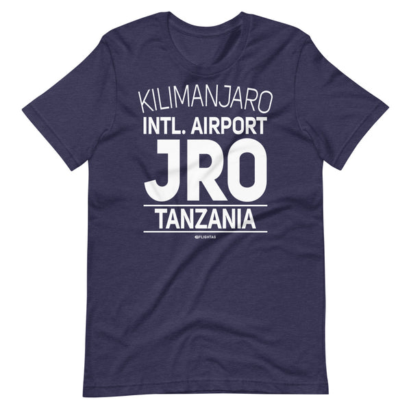Kilimanjaro International Airport Tanzania JRO IATA Code T-Shirt heather navy And Printed Hoodies Vacation Sweatshirt One Gift Airportag Iconspeak Travlshop Wanderlust PilotMall JetSeam Aviator Gear Travel Notes Wild Blue MyPilotStore Sportys Spreadshirt aviationshirts theaviationstore flightstore pilotexpressions aviationlifeclothing jetstream bobspilotshop piloteyesstore skygeek sportys aviatorwebsite aircraft mechanicshirts siu aviation pilot aeroplane pilotshop aviationclothing24 flyawayapparel