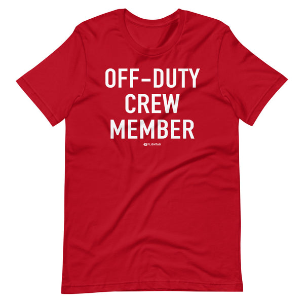 Off-Duty Crew Member T-Shirt red And Printed Hoodies Vacation Sweatshirt One Gift Airportag Iconspeak Shop Travlshop Wanderlust PilotMall JetSeam Aviator Gear Travel Notes Wild Blue MyPilotStore Sportys Spreadshirt aviationshirts theaviationstore flightstore pilotexpressions aviationlifeclothing jetstream bobspilotshop piloteyesstore skygeek sportys aviatorwebsite aircraft mechanicshirts siu aviation pilot aeroplane pilotshop aviationclothing24 auburn flyawayapparel skysupplyusa
