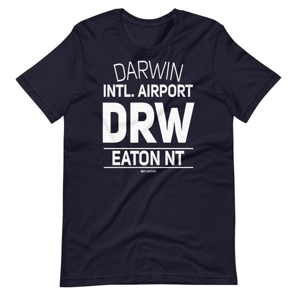 Darwin International Airport Eaton NT DRW IATA Code T-Shirt navy And Printed Hoodies Vacation Sweatshirt One Gift Airportag Iconspeak Travlshop Wanderlust PilotMall JetSeam Aviator Gear Travel Notes Wild Blue MyPilotStore Sportys Spreadshirt aviationshirts theaviationstore flightstore pilotexpressions aviationlifeclothing jetstream bobspilotshop piloteyesstore skygeek sportys aviatorwebsite aircraft mechanicshirts siu aviation pilot aeroplane pilotshop aviationclothing24 flyawayapparel