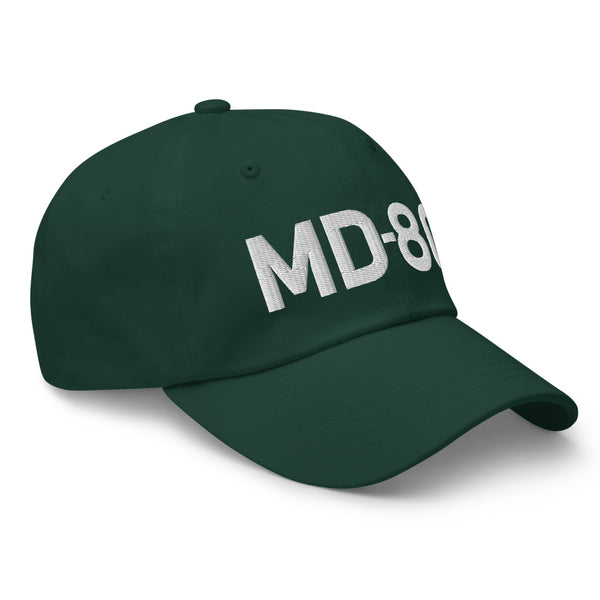 MD-80 Classic Embroidered Cap