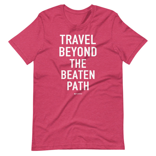Travel Beyond The Beaten Path T-Shirt raspberry heather Printed Hoodies Vacation Sweatshirt One Gift Airportag Iconspeak Travlshop Wanderlust PilotMall JetSeam Aviator Gear Travel Notes Wild Blue MyPilotStore Sportys Spreadshirt aviationshirts theaviationstore flightstore pilotexpressions aviationlifeclothing jetstream bobspilotshop piloteyesstore skygeek sportys aviatorwebsite aircraft mechanicshirts siu aviation pilot aeroplane pilotshop aviationclothing24 flyawayapparel aeromerch Piepieshopping etsy