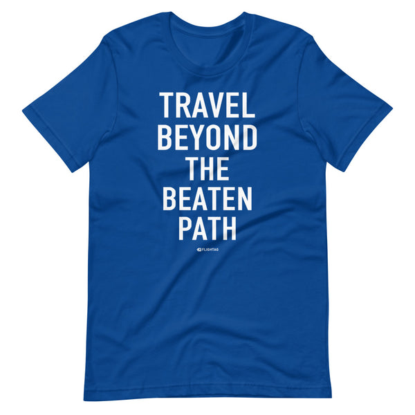 Travel Beyond The Beaten Path T-Shirt blue Printed Hoodies Vacation Sweatshirt One Gift Airportag Iconspeak Travlshop Wanderlust PilotMall JetSeam Aviator Gear Travel Notes Wild Blue MyPilotStore Sportys Spreadshirt aviationshirts theaviationstore flightstore pilotexpressions aviationlifeclothing jetstream bobspilotshop piloteyesstore skygeek sportys aviatorwebsite aircraft mechanicshirts siu aviation pilot aeroplane pilotshop aviationclothing24 flyawayapparel aeromerch Piepieshopping etsy