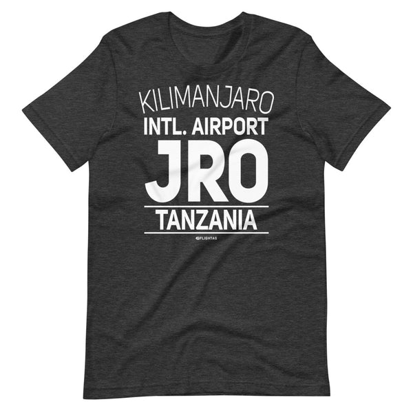 Kilimanjaro International Airport Tanzania JRO IATA Code T-Shirt grey heather And Printed Hoodies Vacation Sweatshirt One Gift Airportag Iconspeak Travlshop Wanderlust PilotMall JetSeam Aviator Gear Travel Notes Wild Blue MyPilotStore Sportys Spreadshirt aviationshirts theaviationstore flightstore pilotexpressions aviationlifeclothing jetstream bobspilotshop piloteyesstore skygeek sportys aviatorwebsite aircraft mechanicshirts siu aviation pilot aeroplane pilotshop aviationclothing24 flyawayapparel