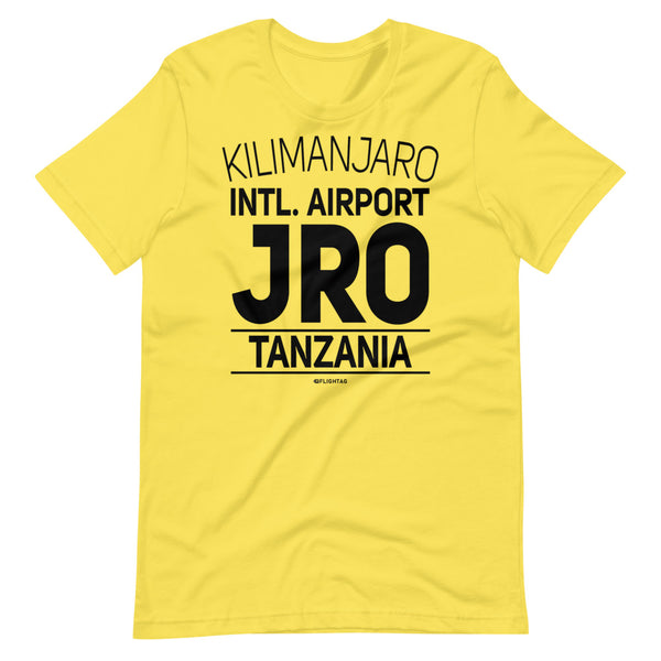 Kilimanjaro International Airport Tanzania JRO IATA Code T-Shirt yellow And Printed Hoodies Vacation Sweatshirt One Gift Airportag Iconspeak Travlshop Wanderlust PilotMall JetSeam Aviator Gear Travel Notes Wild Blue MyPilotStore Sportys Spreadshirt aviationshirts theaviationstore flightstore pilotexpressions aviationlifeclothing jetstream bobspilotshop piloteyesstore skygeek sportys aviatorwebsite aircraft mechanicshirts siu aviation pilot aeroplane pilotshop aviationclothing24 flyawayapparel