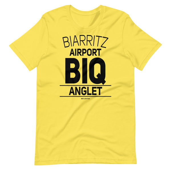 Biarritz Airport Anglet BIQ IATA Code T-Shirt yellow And Printed Hoodies Vacation Sweatshirt One Gift Airportag Iconspeak Travlshop Wanderlust PilotMall JetSeam Aviator Gear Travel Notes Wild Blue MyPilotStore Sportys Spreadshirt aviationshirts theaviationstore flightstore pilotexpressions aviationlifeclothing jetstream bobspilotshop piloteyesstore skygeek sportys aviatorwebsite aircraft mechanicshirts siu aviation pilot aeroplane pilotshop aviationclothing24 flyawayapparel skysupplyusa auburn