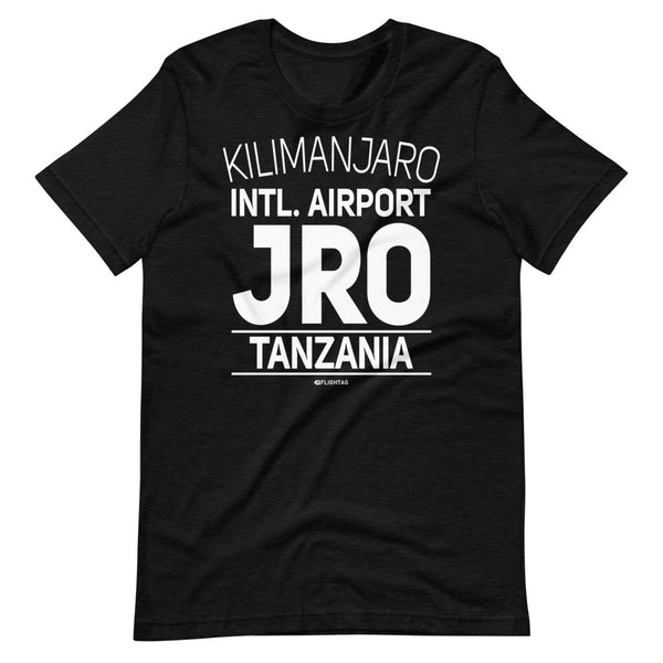 Kilimanjaro International Airport Tanzania JRO IATA Code T-Shirt black heather And Printed Hoodies Vacation Sweatshirt One Gift Airportag Iconspeak Travlshop Wanderlust PilotMall JetSeam Aviator Gear Travel Notes Wild Blue MyPilotStore Sportys Spreadshirt aviationshirts theaviationstore flightstore pilotexpressions aviationlifeclothing jetstream bobspilotshop piloteyesstore skygeek sportys aviatorwebsite aircraft mechanicshirts siu aviation pilot aeroplane pilotshop aviationclothing24 flyawayapparel