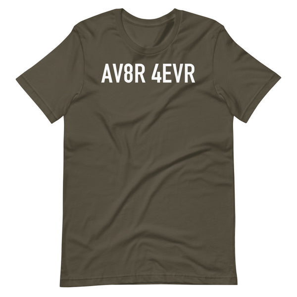 AV8R Taxiway Sign T-Shirt army
