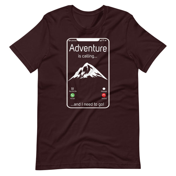 Adventure  Is Calling T-Shirt