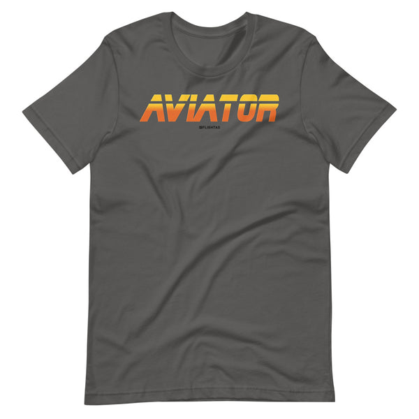 aviator blade runner edition tee shirt silver