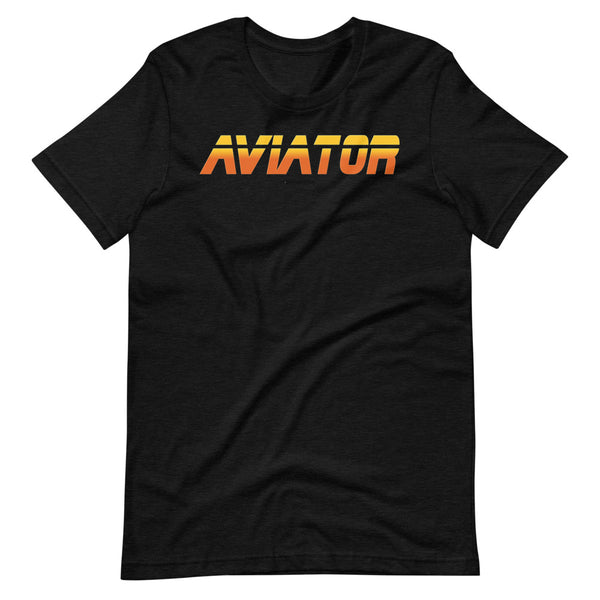 aviator blade runner edition tee shirt black heather