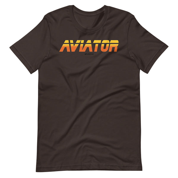 aviator blade runner edition tee shirt brown