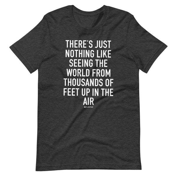 There's Just Nothing T-Shirt black heather