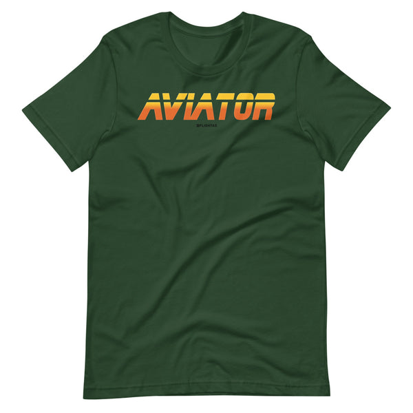 aviator blade runner edition tee shirt green
