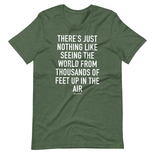 There's Just Nothing T-Shirt green heather