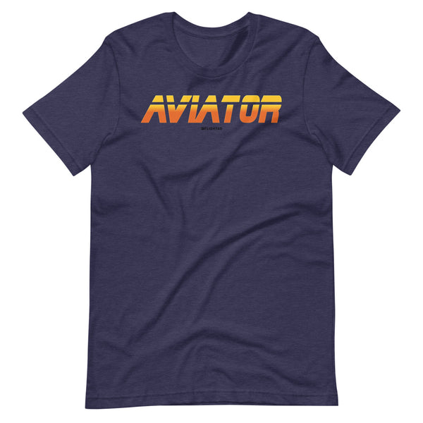 aviator blade runner edition tee shirt navy heather