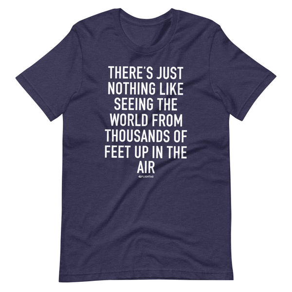 There's Just Nothing T-Shirt navy heather