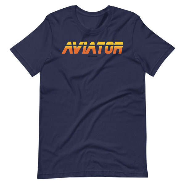 aviator blade runner edition tee shirt navy