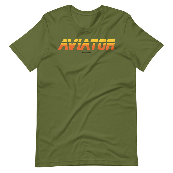 aviator blade runner edition tee shirt olive