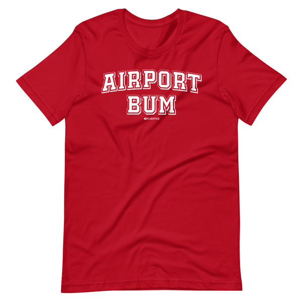 Airport Bum T-Shirt red