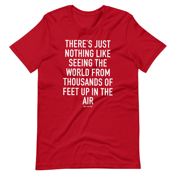 There's Just Nothing T-Shirt red