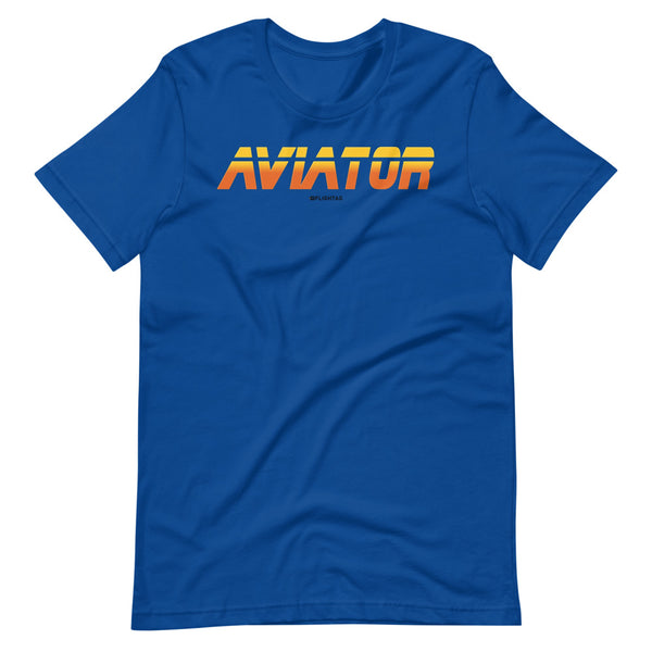 aviator blade runner edition tee shirt blue