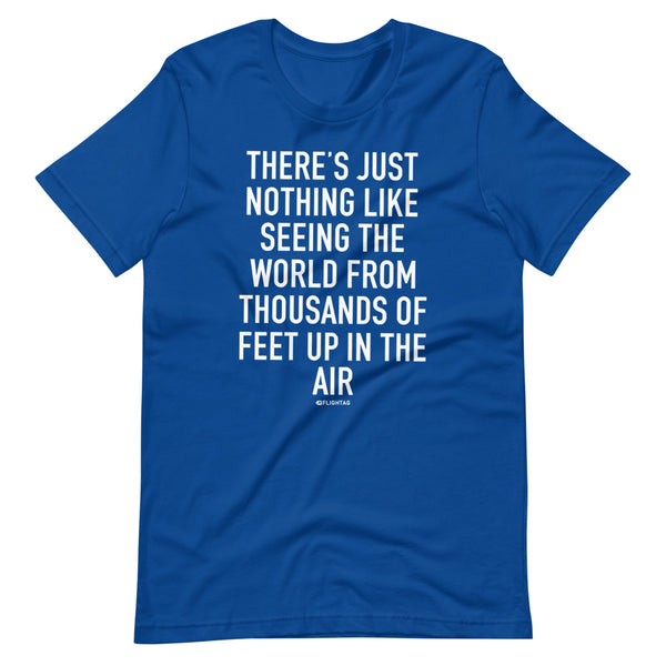 There's Just Nothing T-Shirt blue