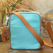 Casual Carrie Crossbody Compact- Turquoise - Concealed Carrie