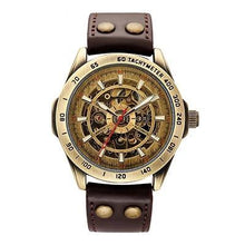 Load image into Gallery viewer, Skeleton Retro Men's Automatic Watch (extra replacement leather strap) - Desempa
