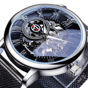 Premium Skeleton Men's Automatic Watch (Forsining) - Desempa