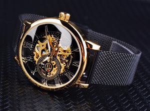 Skeleton Men's Automatic Watch (Forsining Premium) - Desempa