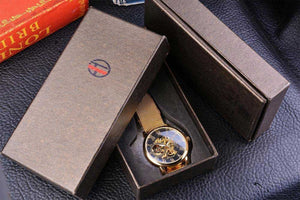 Skeleton Men's Automatic Watch G62 (GMT Premium Edition)