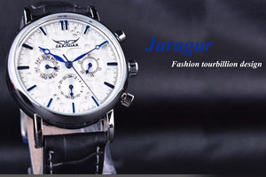 Men's Leather Watch (Jaragar limited collection) - Desempa