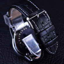 Load image into Gallery viewer, Jaragar Luxury Men's Watch With Genuine Leather Strap - Desempa