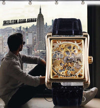 Load image into Gallery viewer, Skeleton Men's Automatic Square Watch G37 (Premium edition)