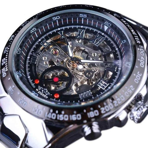 Skeleton Men's Automatic Watch - Desempa