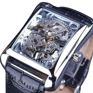 Skeleton Men's Automatic Retro Watch (Winner Premium Selection) - Desempa