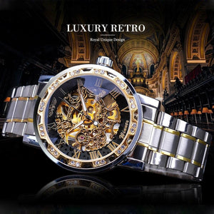 Skeleton Luxury Men's Automatic Watch (limited edition) - Desempa