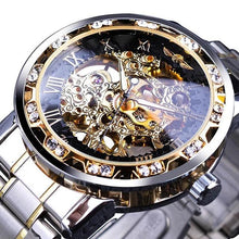 Load image into Gallery viewer, Skeleton Luxury Men's Automatic Watch (limited edition) - Desempa