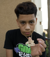 Funny Mike Gold Chains x The bad Kids chain