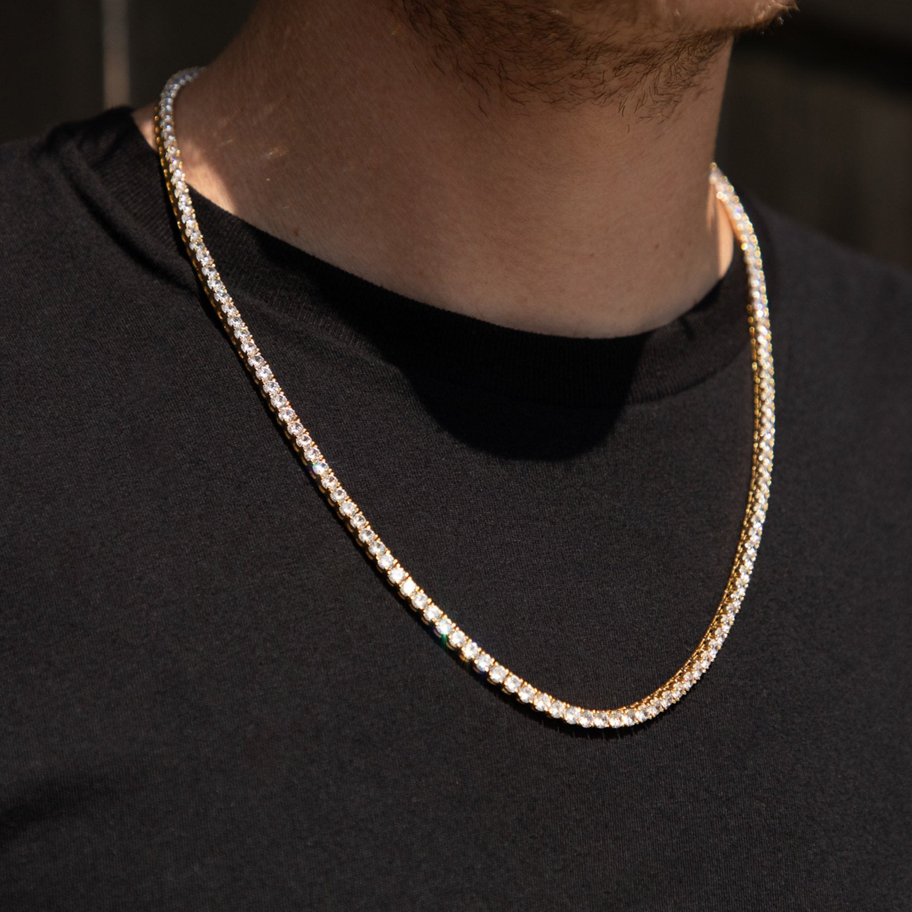 Gold Diamond Tennis Chain - Got Drip - Jewelry - Ice - Jake Paul