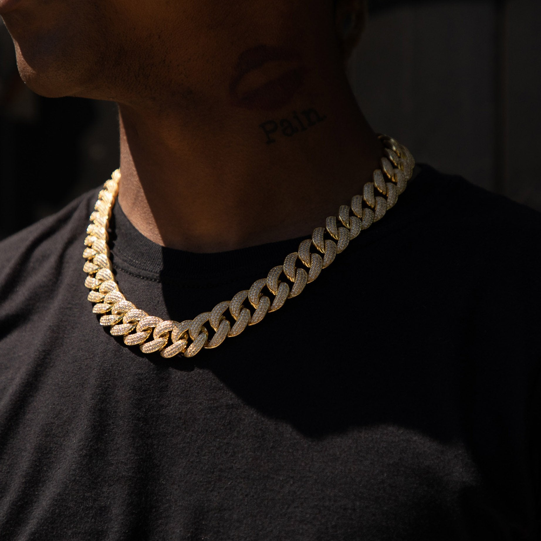 Gold Ice Thick Rapper Cuban Chain - Got Drip - Jewelry - Ice - Jake Paul