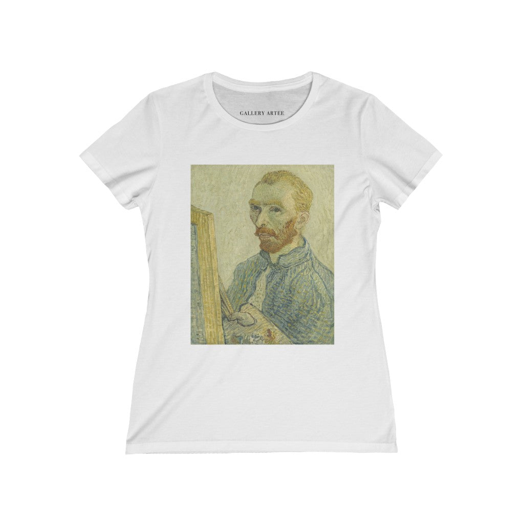 Portrait Of Vincent Van Gogh | Women's Premium Cotton Tee