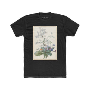 A Bouquet Of Flowers With Insects | Women's Soft Cotton Shirtdress