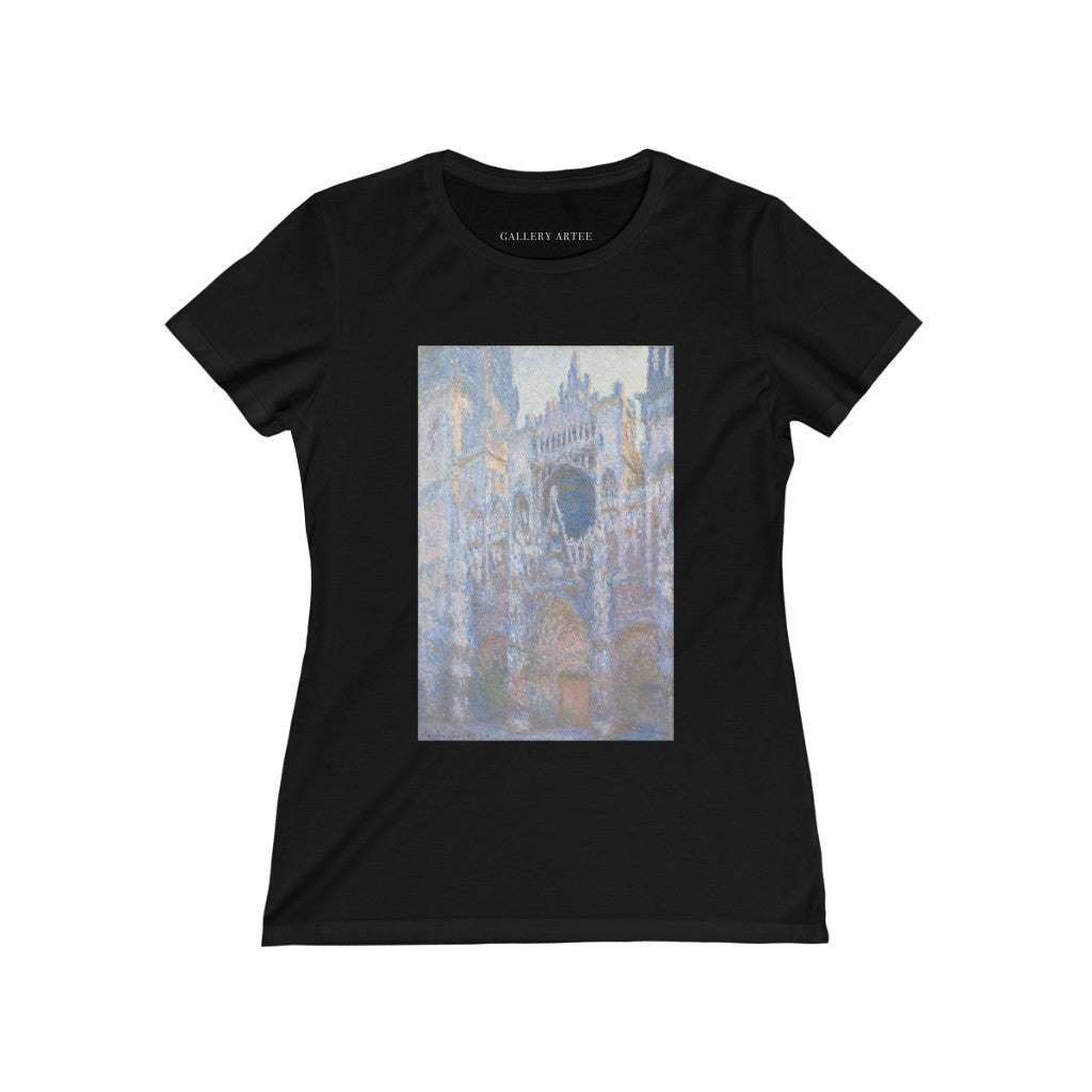 Rouen Cathedral, West Façade | Women's Soft Cotton Tee