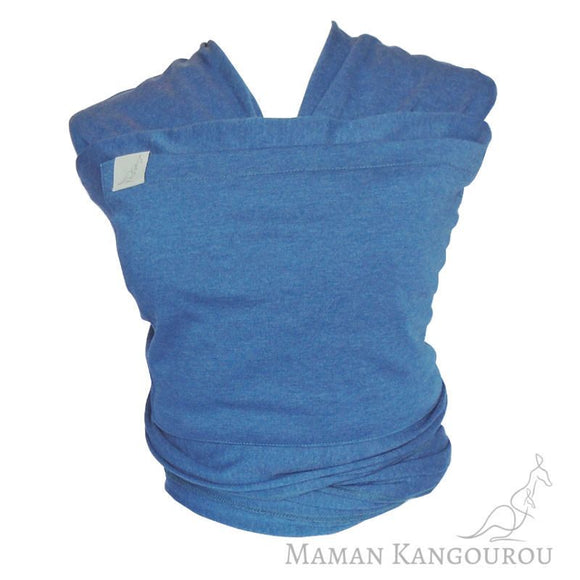 Écharpe extensible en cotton Denim - Maman Kangourou